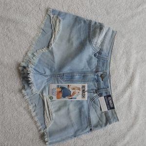 REWASH short for woman color blue size 11